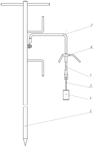 Устройство наброса на провода